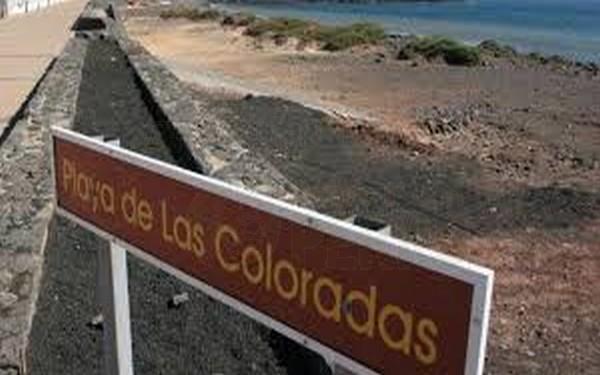 Playa de Las Coloradas,Lanzarote