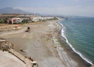 Playa piedra paloma, Casares