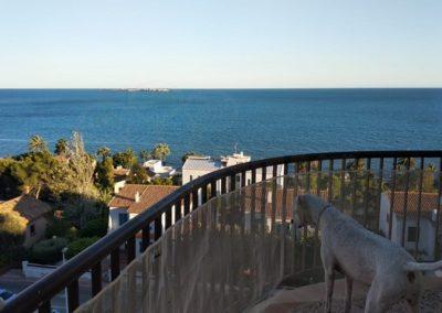 Amanecer viendo Tabarca, Alicante